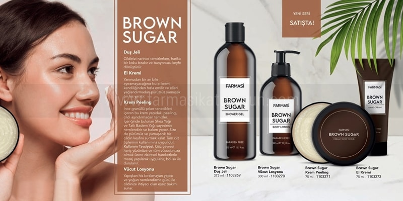 Farmasi Brown Sugar Serisi