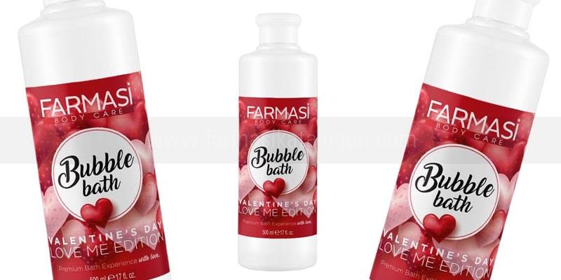 Farmasi Bubble Bath Love Me Edition Duş Jeli