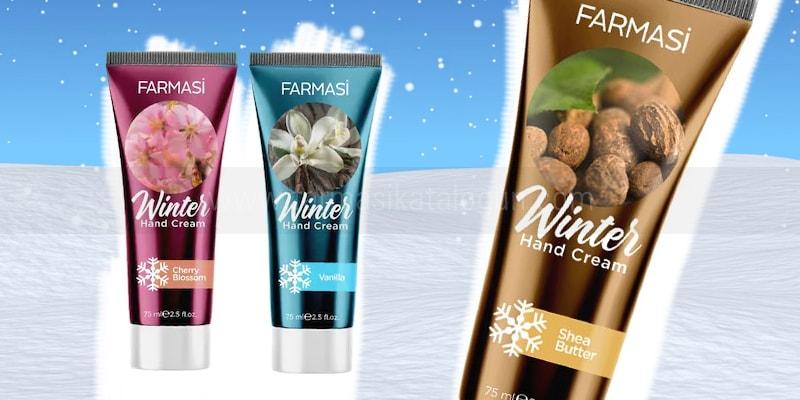 Farmasi Winter El Kremi Shea Yağı